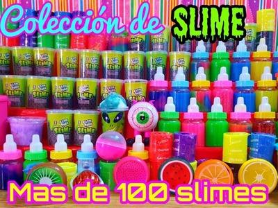 Mi colección de slime mas de 100 slimes