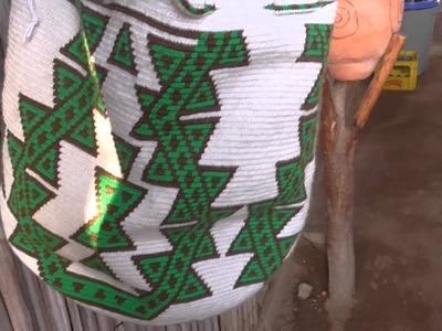 Mochila Wayúu, una obra de arte