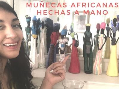 MUÑECAS AFRICANAS | HECHAS A MANO MUY LINDAS Y FACILES