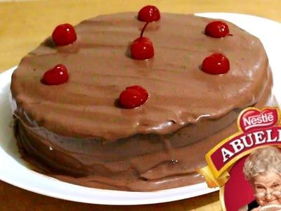 PASTEL DE CHOCOLATE ABUELITA SIN HORNO