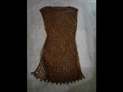 Salida de baño en crochet
