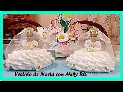 Servilletero para boda (novia parte 1)