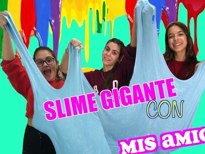 SLIME GIGANTE 5KILOS.DIY GIANT SLIME.LA DIVERSION DE MARTINA