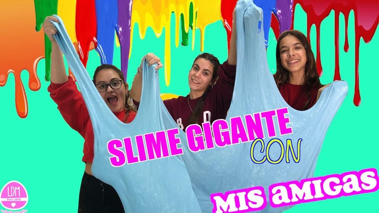 SLIME GIGANTE 5KILOS.DIY GIANT SLIME.LA DIVERSION DE MARTINA