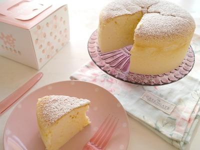 Tarta de Queso Japonesa | Japanese Cotton Cheesecake