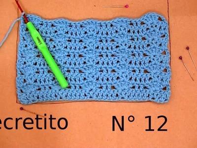 TIP o Secreto N° 12 ¿Cómo trabajar con moldes de papel en el crochet o ganchillo? Moda a Crochet