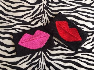 Bolso de mano a crochet Kiss