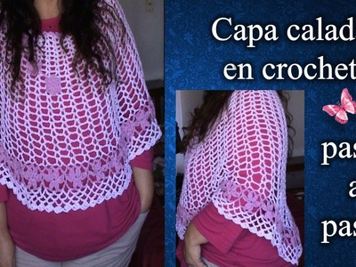 CAPA en crochet PASO A PASO 2 de 2