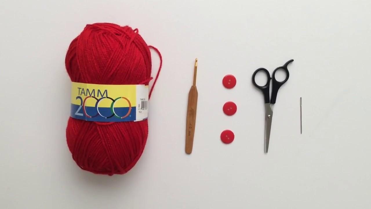 Caperuza a crochet