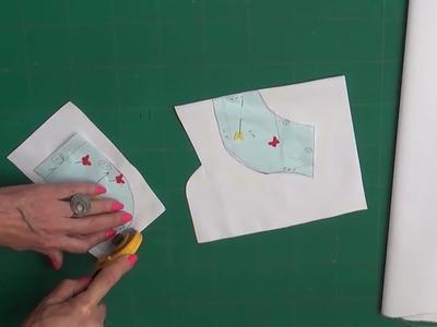 Como cortar el ropón 1° parte. Clase # 99 Alta Costura para NIÑOS