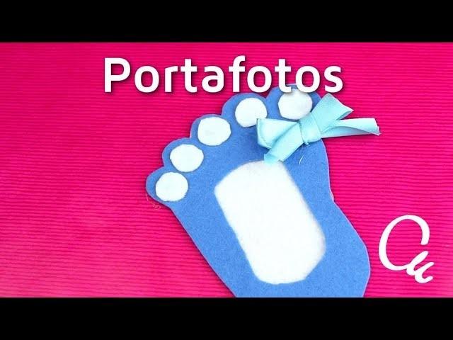 Cómo hacer portafotos de fieltro para bautizo o baby shower | facilisimo.com