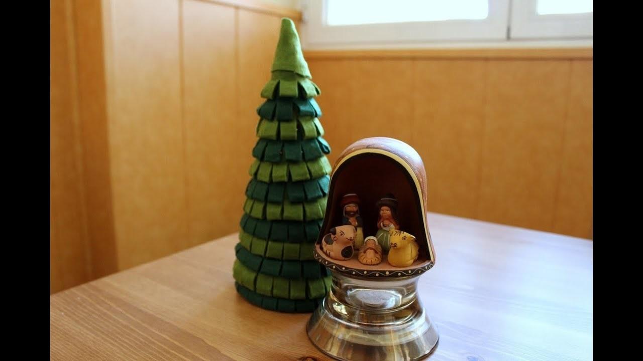 Cómo hacer un árbol de Navidad de fieltro  | facilisimo.com