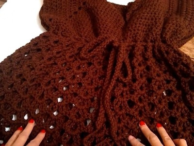 Cordon (puntada especial)  para sujetar  a crochet
