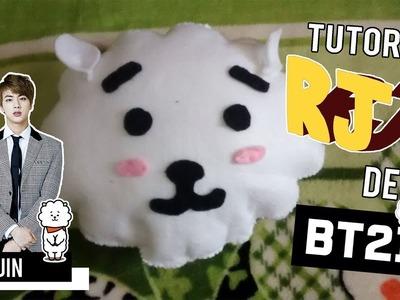 DIY: CREA tu PELUCHE de RJ BT21 (Kim Seok Jin - Jin)