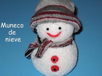 DIY facilisimo muneco de nieve DIY easy snow doll