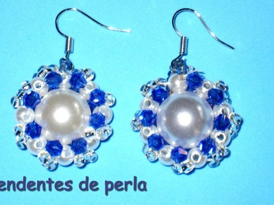 DIY . Pendientes de perla DIY Pearl earrings