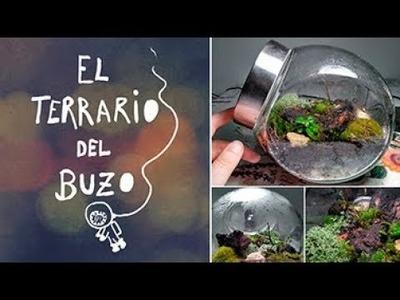 DIY Tutorial: Terrario eterno paso a paso - El terrario del buzo