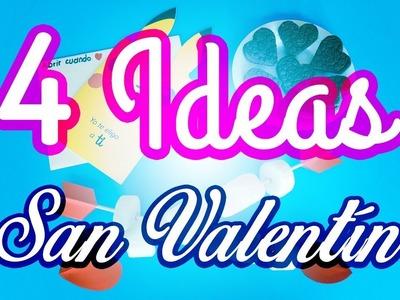IDEAS para SAN VALENTÍN - Regalos FÁCILES y RÁPIDOS ???? | JuanTu3