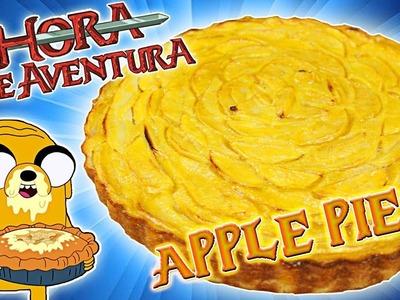 Tarta de Manzana de HORA DE AVENTURA muy fácil (No tiene Bacon Frito, pero esta DELICIOSA xD)
