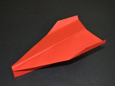 Aviones de Papel - Como hacer un Avion de Papel que Vuela Mucho -  Origami Avión