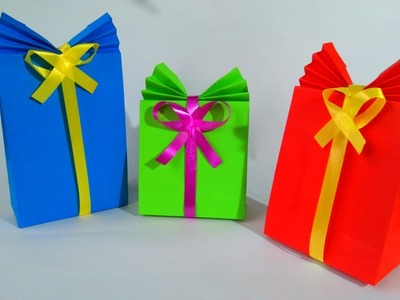 BOLSAS de PAPEL para REGALO - gift paper bag
