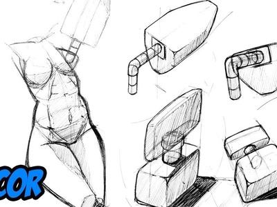 Como Aprender a Dibujar | Basico #2 | Figuras Diferentes Vistas