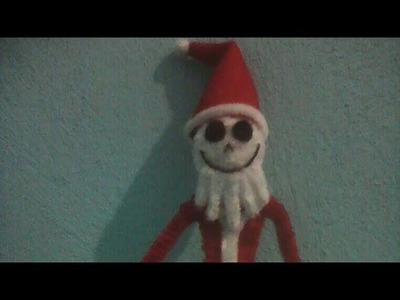 Como hacer a Jack navideño con Limpiapipas (Christmas jack with pipe cleaner)