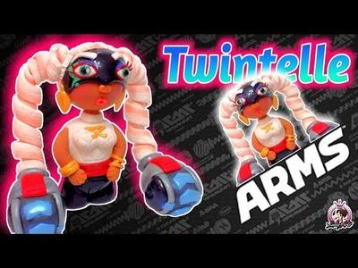 ????Como hacer a TWINTELLE de ARMS con Arcilla Polimerica | Fimo | Polymer Clay