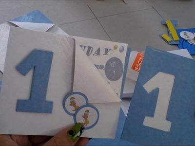 Como hacer Tarjetas de cumpleaños para niños.