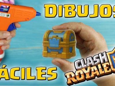 DIBUJOS EN SILICONA DE CLASH ROYALE  Dcrafting