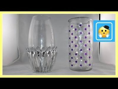DIY - Decora Jarrones De Vidrio(1.2) (Jar decorating ideas)