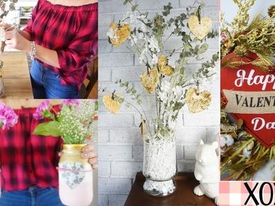 DIY DECORACIONES PARA LA  CASA  DE SAN VALENTIN ❤️ Reciclando, Faciles y Elegantes | Valentine's Day