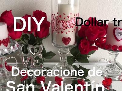 DIY Dollar Tree Decoracion para San Valentin día del el amor y amistad