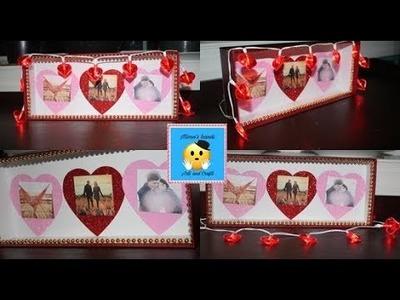 DIY Portaretrato para San Valentin facil de hacer!