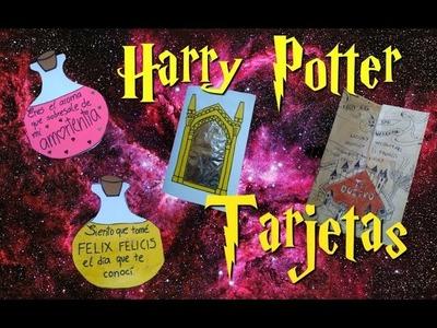 DIY | Tarjetas de San Valentín de Harry Potter