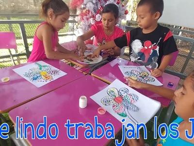 Dulces desde Costa Rica para los Jrs . Pura Vida!. Manualidades: Una hermosa flor. Parte 2
