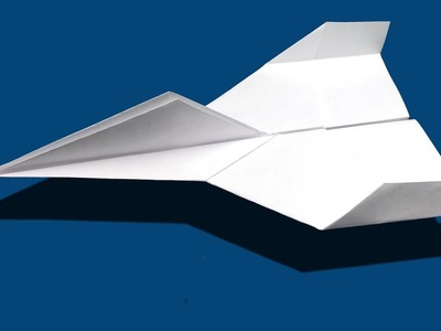 ***F16 jet origami fighter - Paper fighter airplane
