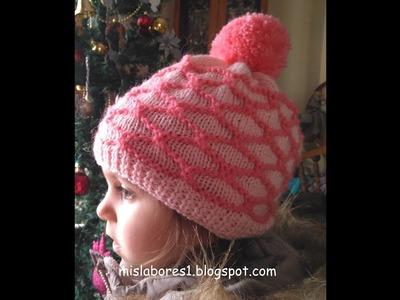 Gorro de lana para niña 2