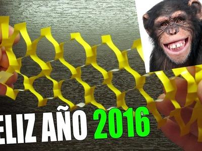 GUIRNALDAS DE PAPEL | FELIZ AÑO NUEVO 2016 PARA TODOS LOS SUSCRIPTORES!!!