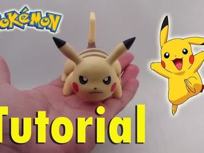 How To Make Pikachu Cold Porcelain Tutorial. Polymer Clay. Como Hacer a Pikachu en Porcelana Fría