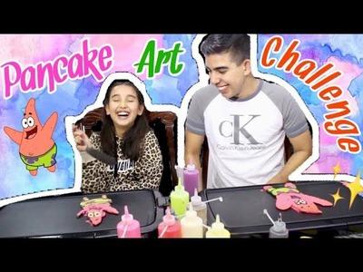 ¡DIBUJOS QUE SE COMEN! | PANCAKE ART CHALLENGE ????
