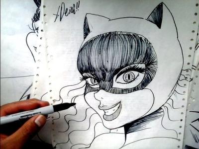 Mira Y Animate a Dibujar a GATUBELA DE BATMAN DE 1960 XDEIOS