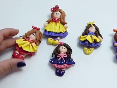 Muñecas de porcelanicron  sin molde, Manualidadeslahormig