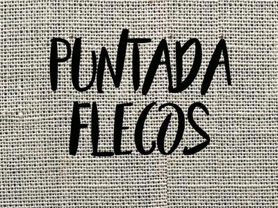 PUNTADA FLECOS - TUTORIAL - PASO A PASO