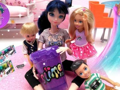 Slime DIY Shaker en el Tobogán de las L.O.L - Slime con Marinette ???? Videos de Ladybug - JJ's Toys