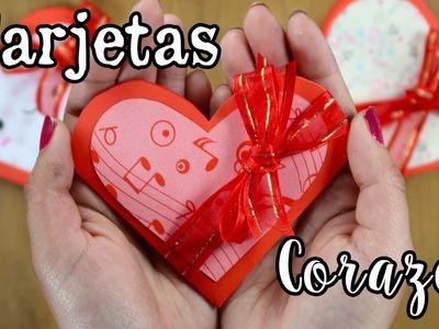 Tarjeta de Corazón super FÁCIL! - EASY Heart Card! - DIY