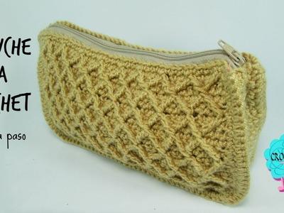 Tutorial cartuchera a crochet