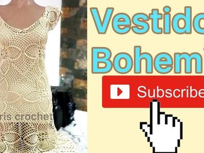 Vestido bohemio parte 5
