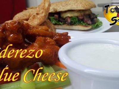 """Aderezo Blue Cheese """"paso a paso"""" (TOQUE Y SAZÓN) Blue Cheese Dip"""