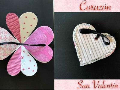 Album de corazón para San Valentin